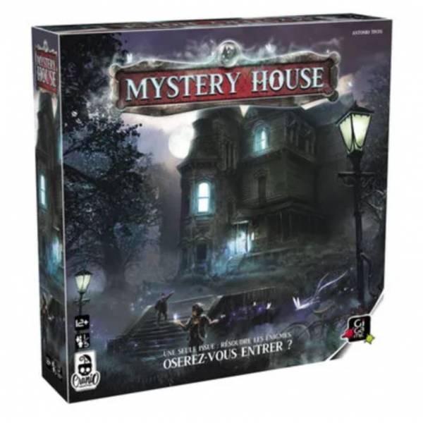 mystery house boîte