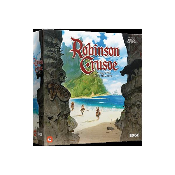 robinson crusoé : aventures sur l'île maudite boîte