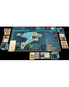 pandemic legacy saison 2 (noir) plateau