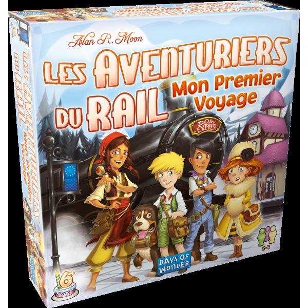 les aventuriers du rail europe : premier voyage boîte