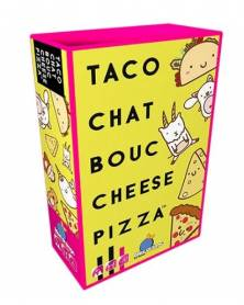 taco chat bouc cheese pizza boîte