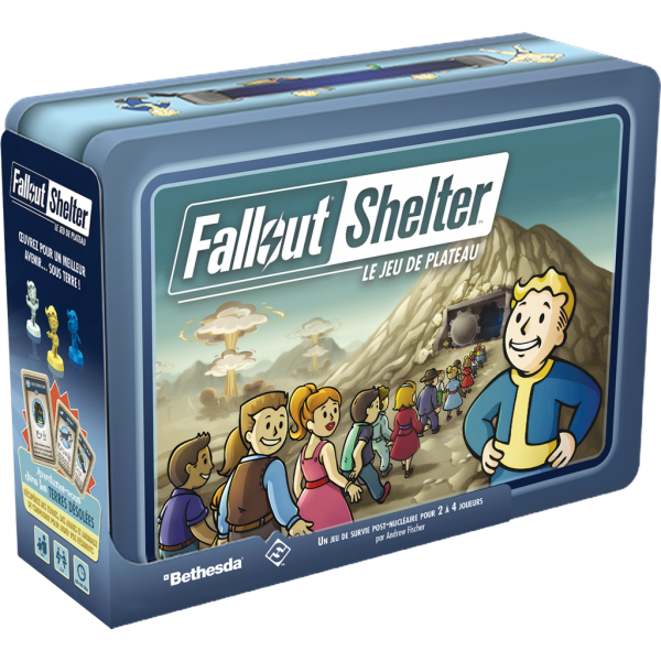 fallout shelter boîte