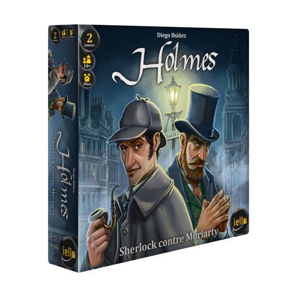 holmes - sherlock contre moriarty boîte