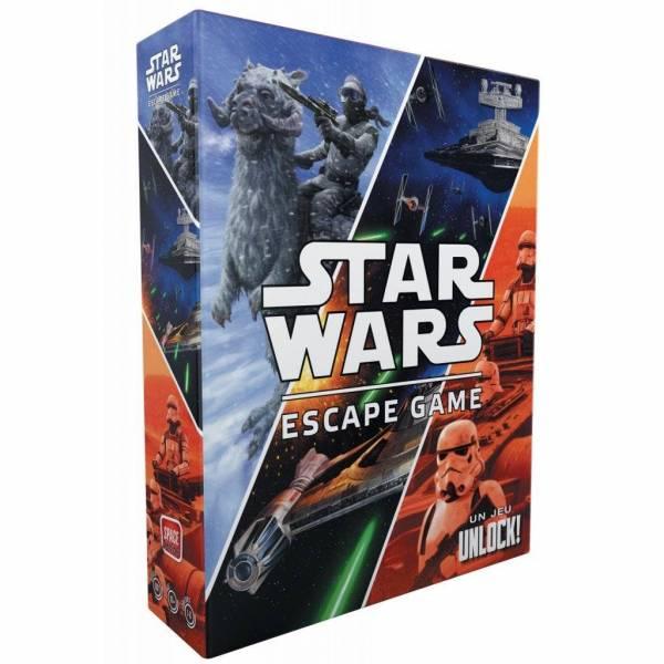 unlock ! star wars escape game boîte