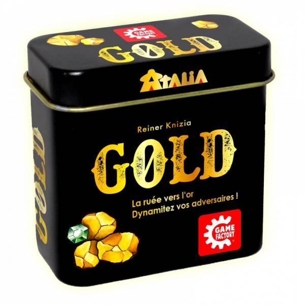 gold boîte