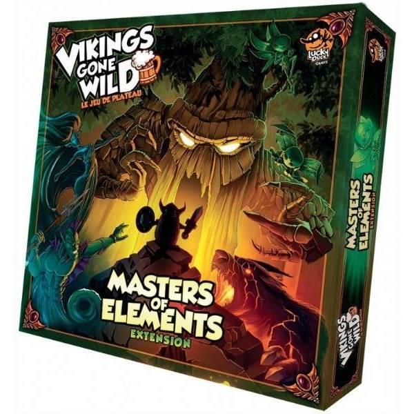 vikings gone wild : masters of elements boîte
