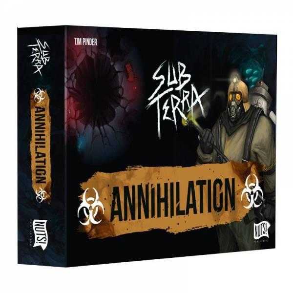 sub terra : annihilation boîte