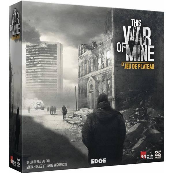 this war of mine : le jeu de plateau boîte