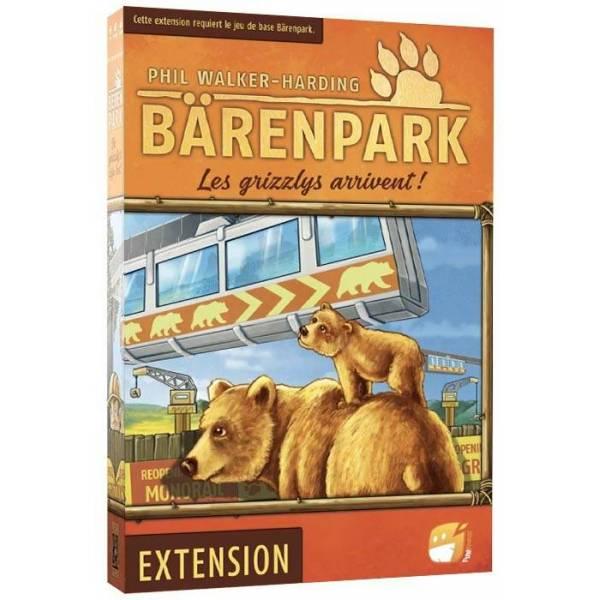 bärenpark : les grizzlys arrivent ! boîte