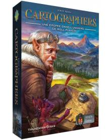 cartographers : a roll player tale boîte