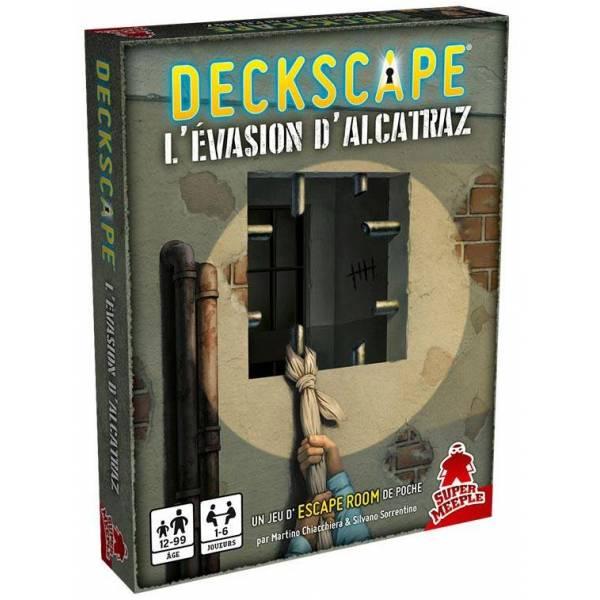 deckscape : l'évasion d'alcatraz boîte