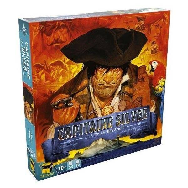 l'île au trésor - capitaine silver : l'île de la revanche boîte
