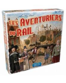 les aventuriers du rail : amsterdam boîte