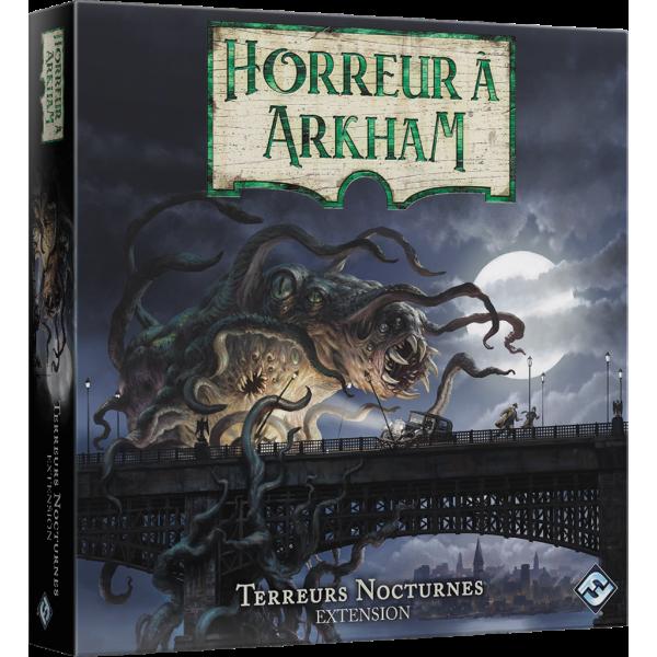 horreur à arkham 3ème edition : terreurs nocturnes - extension boîte