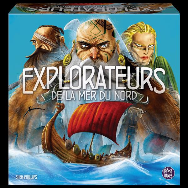 explorateurs de la mer du nord boîte