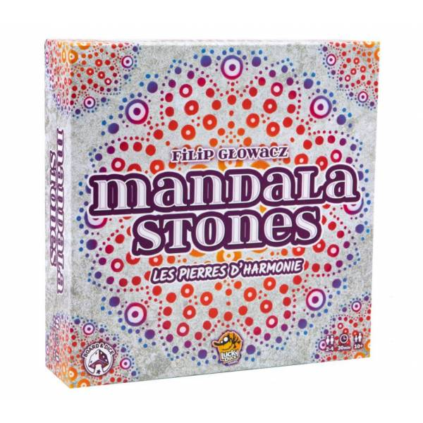 mandala stones boîte