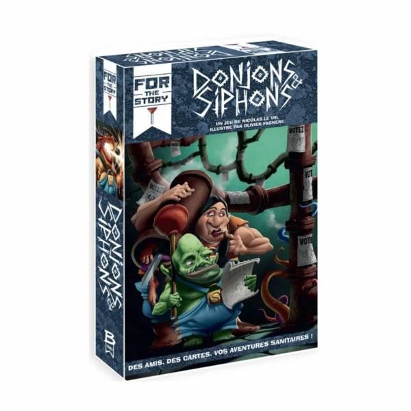 donjons & siphons boîte