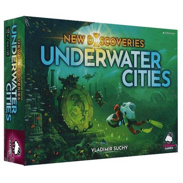 underwater cities : new discoveries - extension boîte