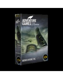 adventure games : monochrome boîte