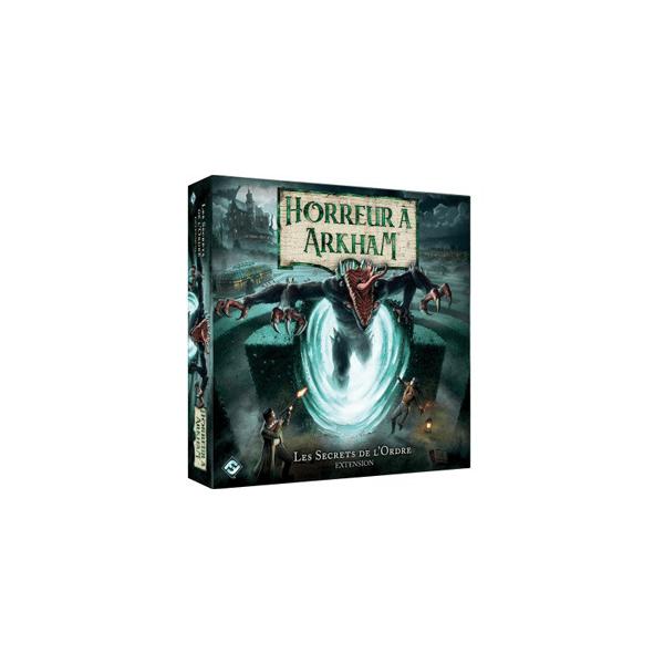 horreur à arkham 3ème edition : les secrets de l'ordre - extension boîte