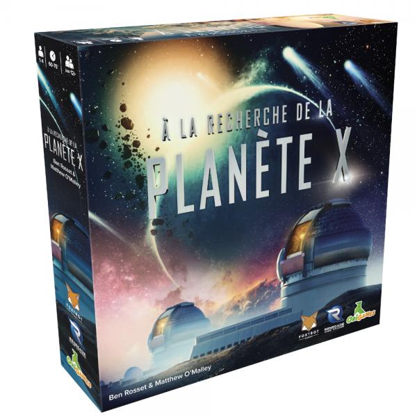 À la recherche de la planète X boite
