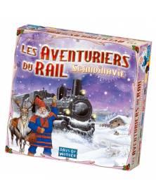 les aventuriers du rail : scandinavie boîte