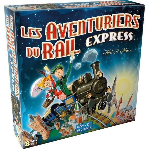 les aventuriers du rail express boîte