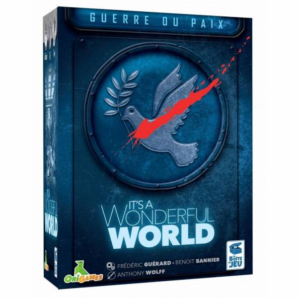 it's a wonderful world - guerre et paix boîte